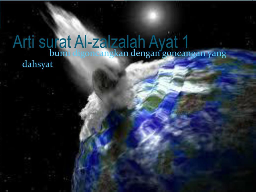 Ppt Qsal Zalzalah Artinya Goncangan Powerpoint