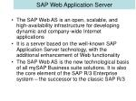 sap web application server