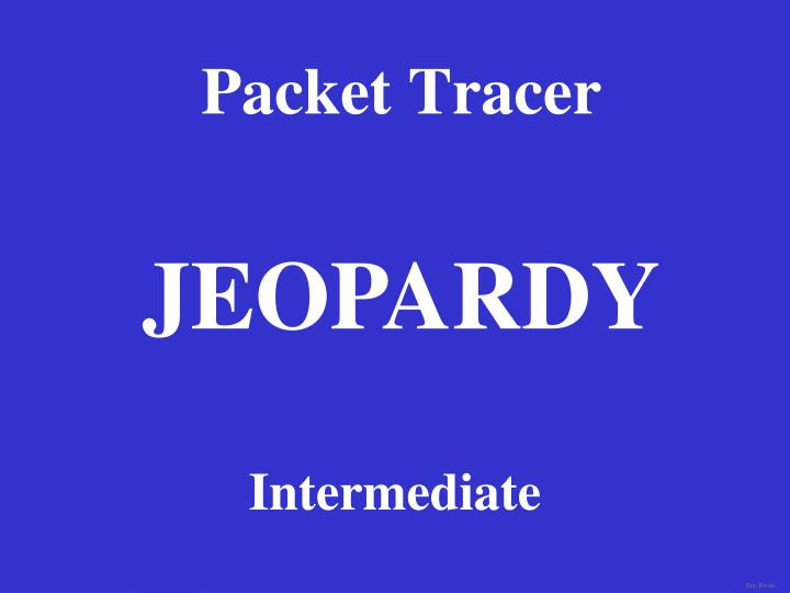 packet tracer n.