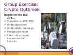 group exercise crypto outbreak2