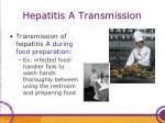 hepatitis a transmission1
