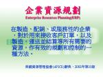 enterprise resources planning erp