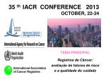 35 th iacr conference 2013 october 22 24