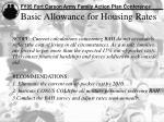 basic allowance for housing rates