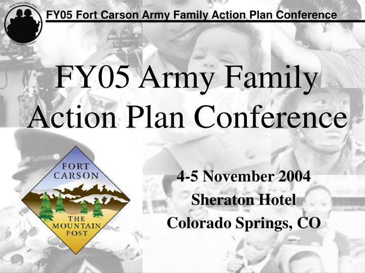fy05 army family action plan conference n.