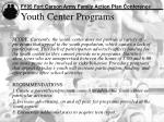 youth center programs