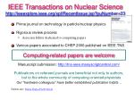 ieee transactions on nuclear science http ieeexplore ieee org xpl recentissue jsp punumber 23