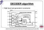 decider algorithm1