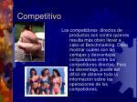 competitivo