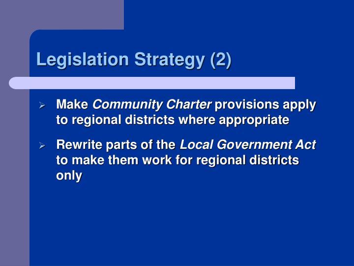 Legislation Strategy (2)