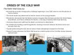 crises of the cold war1