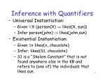 inference with quantifiers