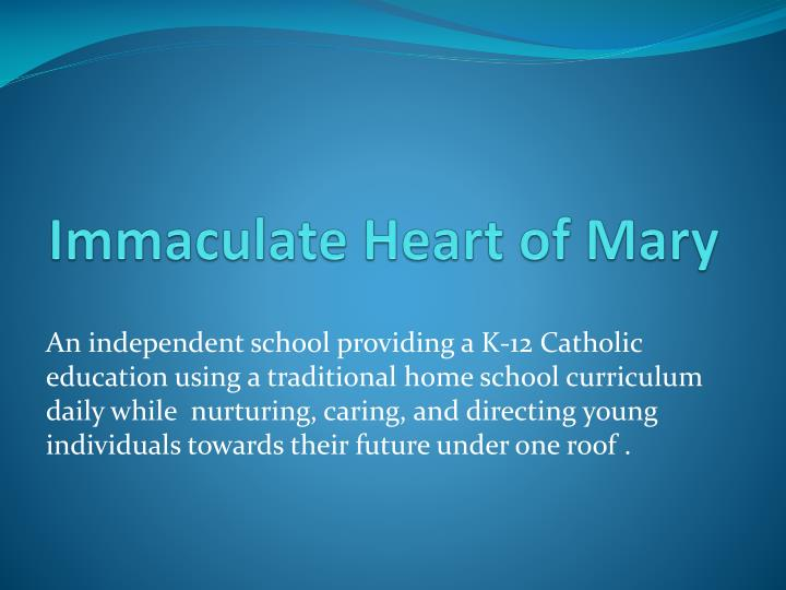 immaculate heart of mary n.