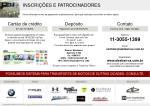 inscri es e patrocinadores