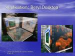 application beryl desktop