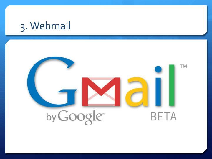3. Webmail