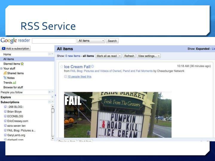 RSS Service