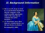 ii background information1