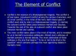 the element of conflict