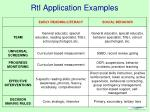 rti application examples