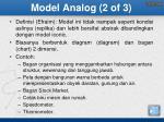 model analog 2 of 3