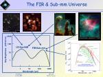 the fir sub mm universe