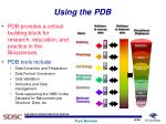 using the pdb