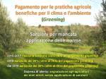 pagamento per le pratiche agricole benefiche per il clima e l ambiente greening3