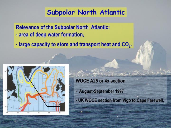 Subpolar North Atlantic