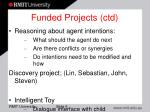 funded projects ctd