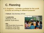 c planning2
