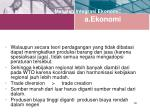 masalah integrasi ekonomi a ekonomi