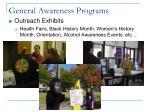 general awareness programs1