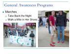 general awareness programs3