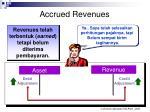 accrued revenues