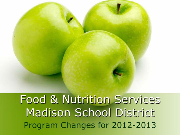 food nutrition services madison school district n.