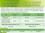 section 205 equity in national school lunch program pricing
