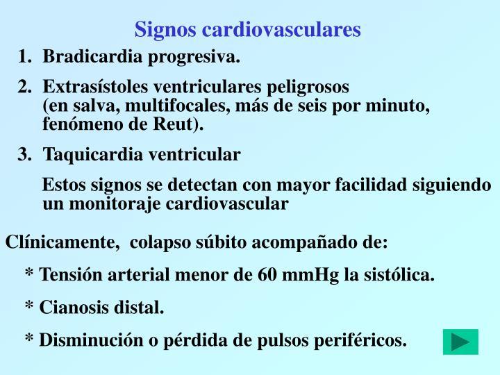 Signos cardiovasculares