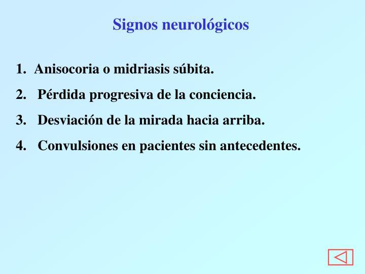 Signos neurológicos