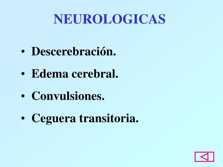 NEUROLOGICAS
