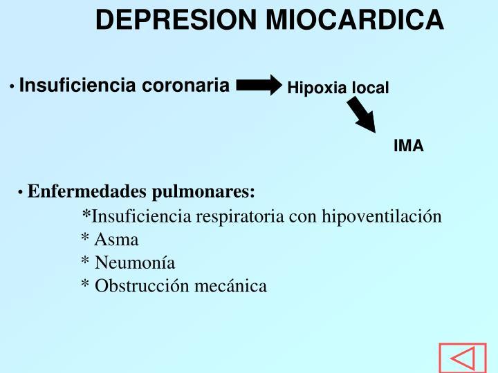 DEPRESION MIOCARDICA