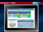 dashboard tablet