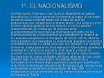 1 el nacionalismo
