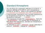 standard atmosphere1