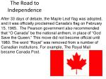 the road to independence12