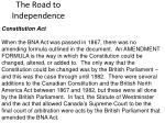 the road to independence13