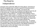 the road to independence14