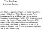 the road to independence17