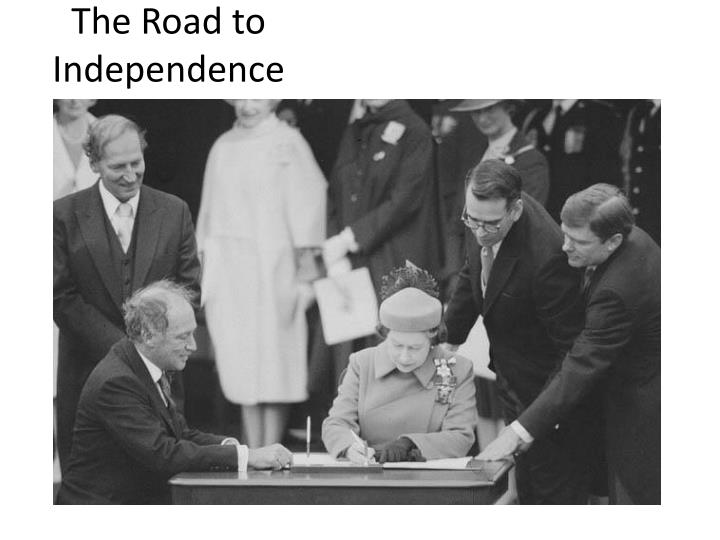 the road to independence essay An independence movement broke out and portugal sent 50,000 troops to end it, which wiped out half of portugal's budget 3 the cost of war and the war's opposition in portugal called for them to withdraw from angola in 1975.