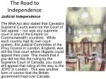 the road to independence6